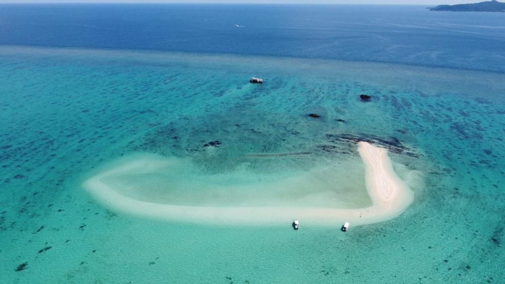 幻の島を空撮