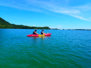 石垣島のカヌー