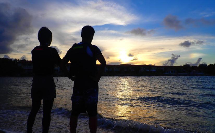 石垣島の朝日
