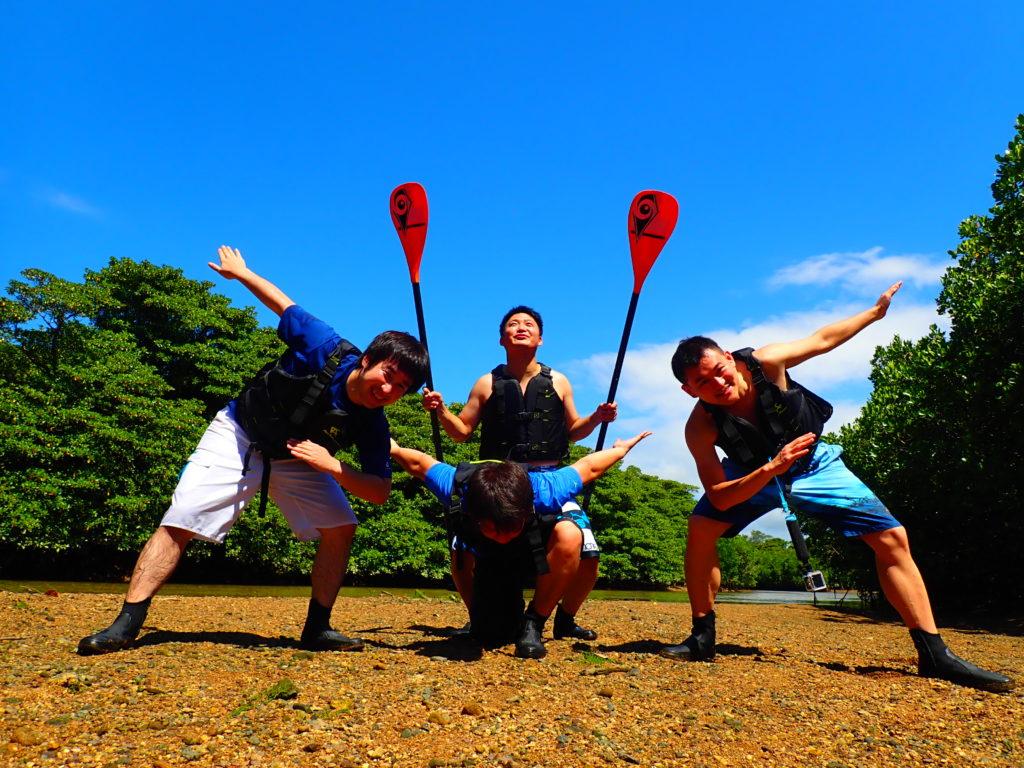 石垣島、SUP、男友達