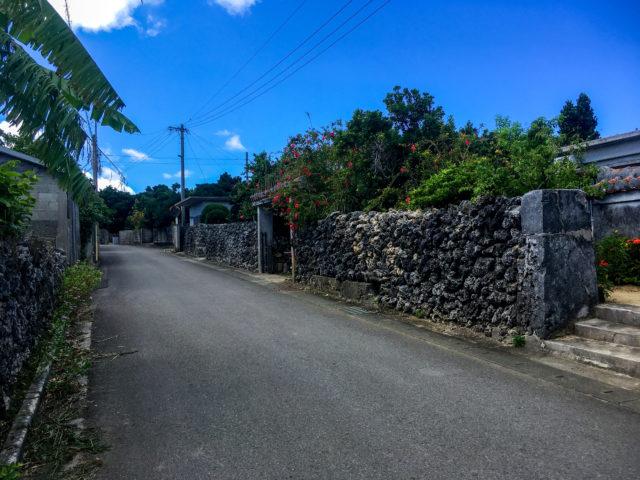 小浜島の集落