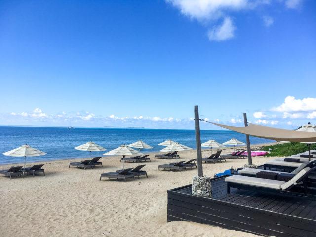 小浜島、はいむるぶしのビーチ