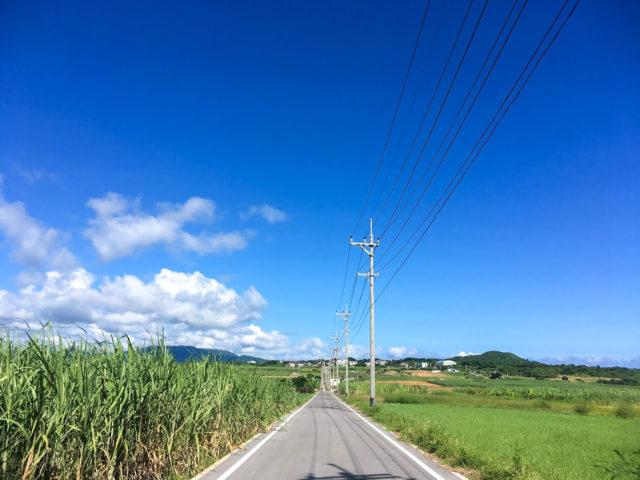 小浜島、シュガーロード