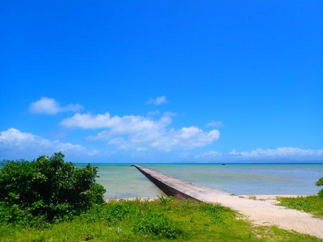 黒島の伊古桟橋