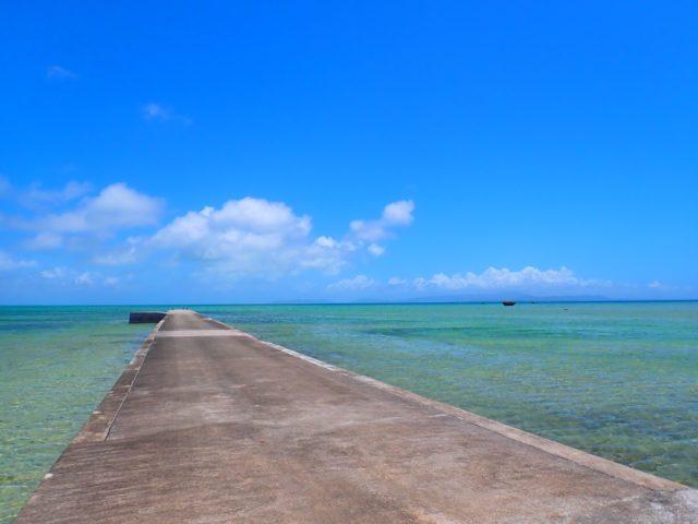 黒島、伊古桟橋