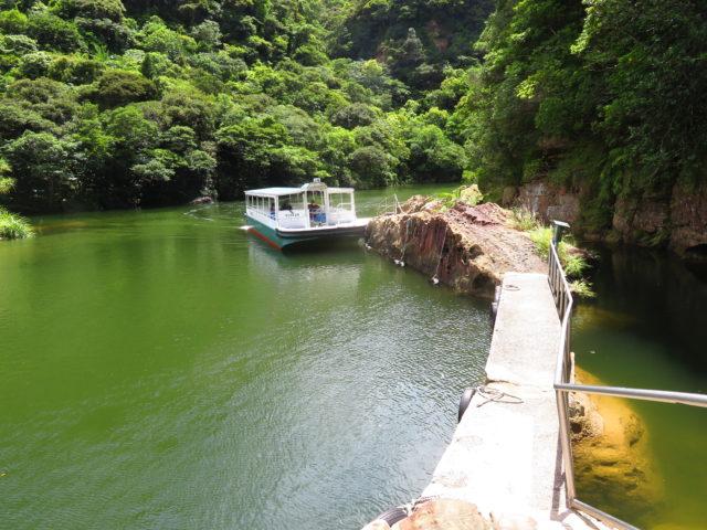 浦内川遊覧船