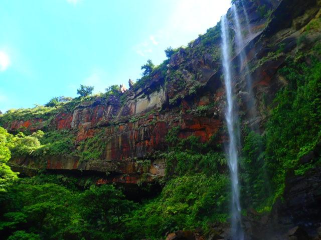 西表島、ピナイサーラの滝