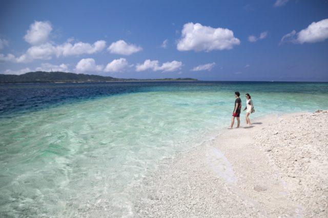 西表島のバラス島