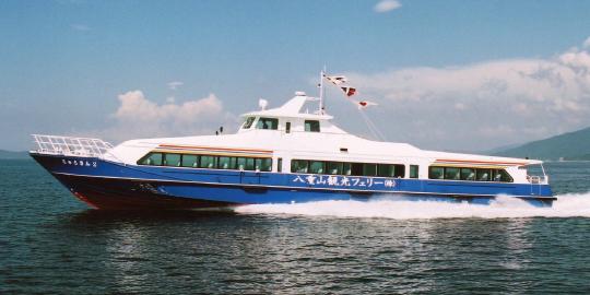 八重山観光フェリーの船