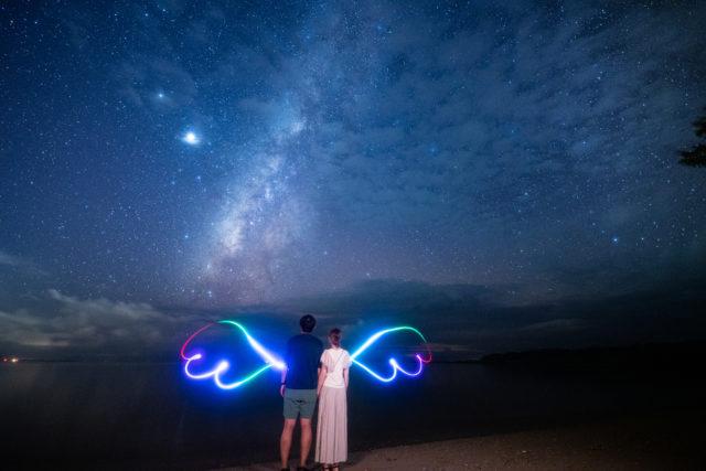 石垣島,星空フォトツアー,カップルで,天の川