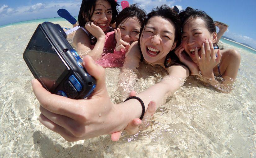 石垣島,ダイビング,ウミガメシュノーケリング,幻の島,友達と