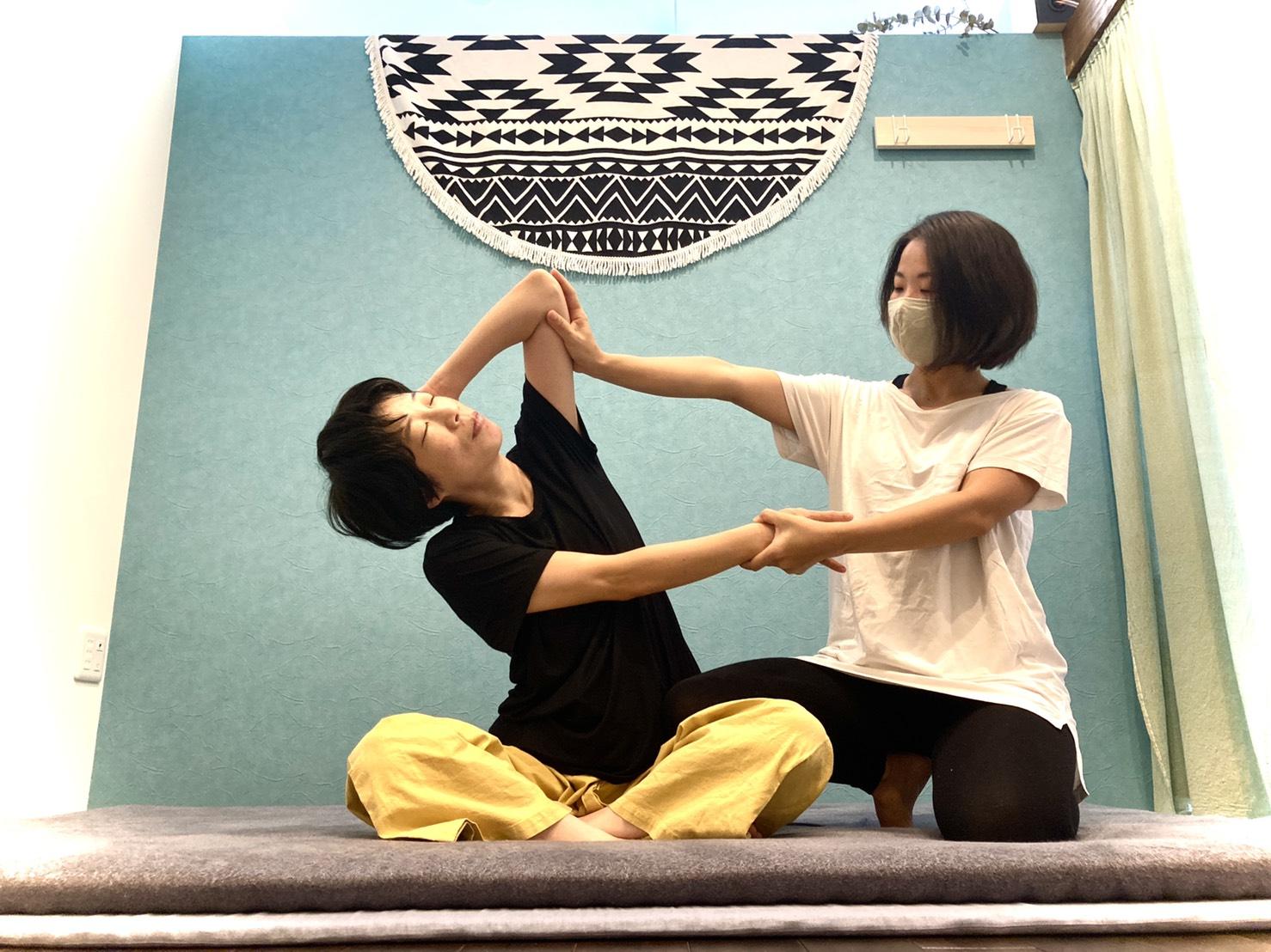 プライベートサロンでタイ古式マッサージ!【135分】(No.471)