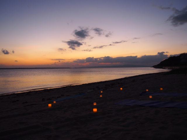 SUNSET BEACH CANDLE YOGA/サンセットビーチキャンドルヨガ(No.491)