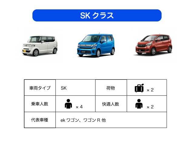 石垣島レンタカー,SKクラス,4人乗り,無料送迎,