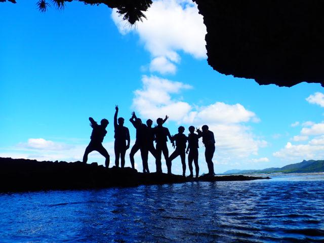 石垣島,青の洞窟ツアー,シュノーケリング,団体,アクティビティ