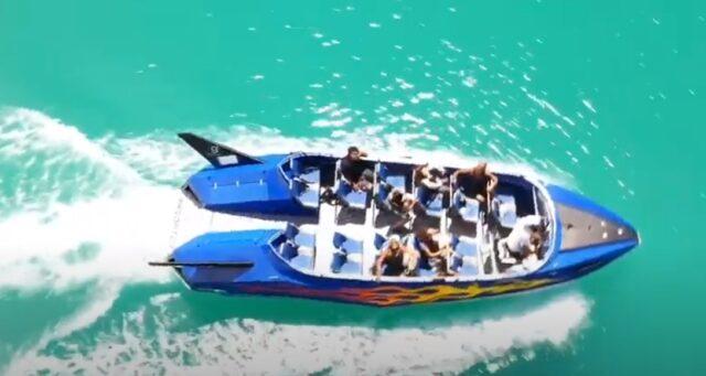 ジェットボートクルージング