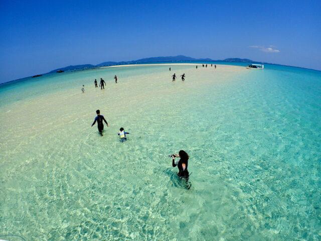 幻の島上陸