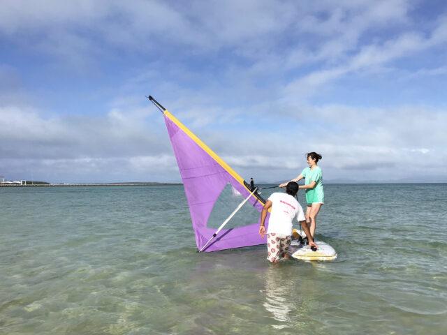 石垣島でウィンドサーフィン体験!(No.494)