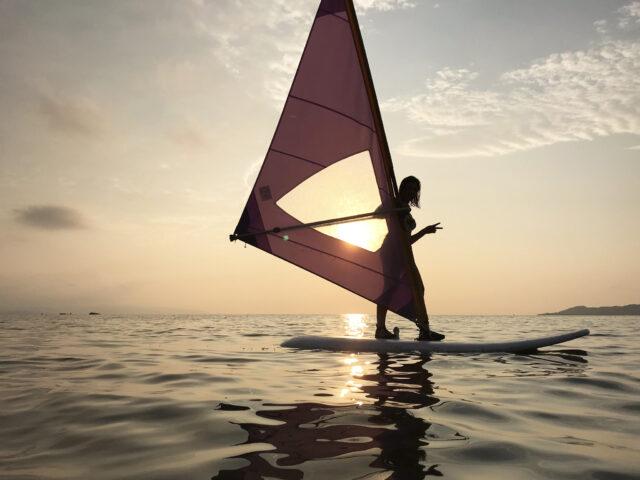 石垣島,アクティビティ,ウィンドサーフィン,マリンスポーツ,石垣島の海,サンセット,石垣島の夕陽