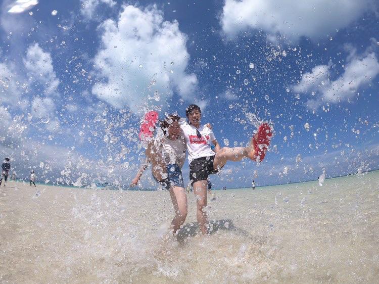 【地域共通クーポン対象】マンタ・ウミガメシュノーケル+幻の島上陸サンゴ礁シュノーケル【竹富島行き乗船券プレゼント】-半日コース-(No.500)