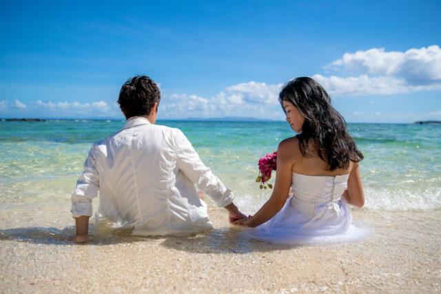 marine wedding