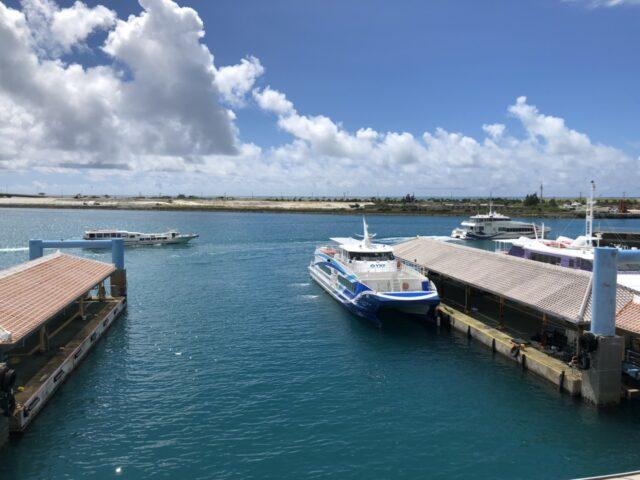 石垣港離島ターミナル フェリー