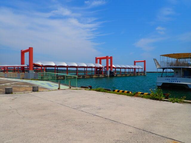 西表島 大原港