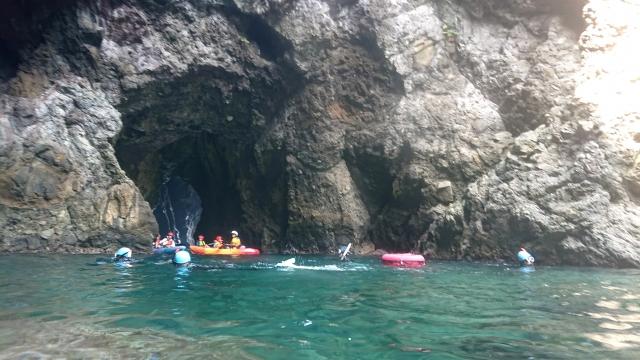 竹野 青の洞窟