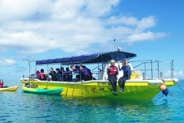 伊良部島 青の洞窟 グラスボート